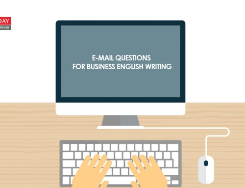7 E-Mail Questions for Business English Writing