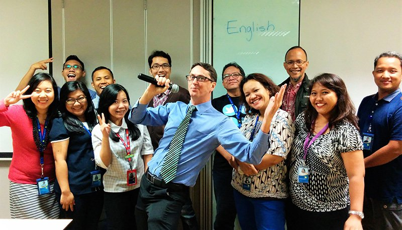 XL Axiata Enjoy Business-English classes