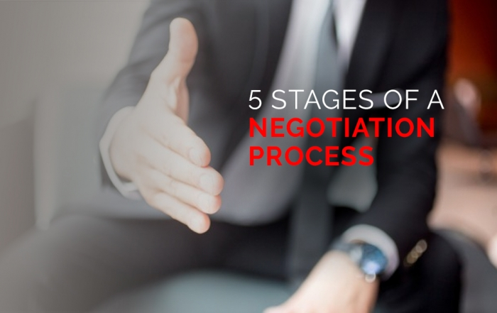 5 Stages of A Negotiation Process