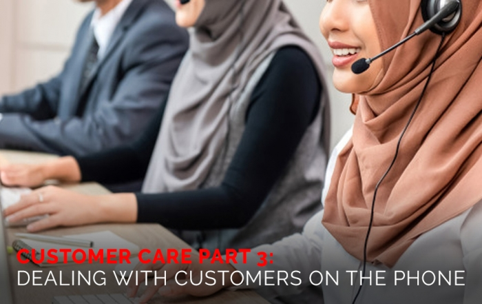 Customer Care part 3 Dealing with Customers on the Phone